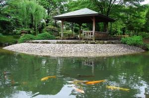 荒子川公園の庭園