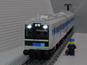 レゴブロックで作ったあおなみ線車両