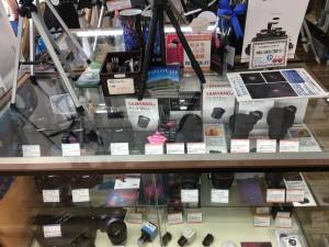 カメラのパーツもたくさん!!